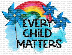 Sublimation Transfer - Child Abuse Awareness