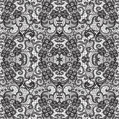 Lace Pattern Digitally Printed