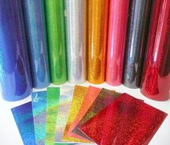 Pink - Fantasy Films Outdoor Glitter Adhesive Vinyl