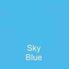 Sky Blue DuraGloss Intermediate Adhesive Vinyl