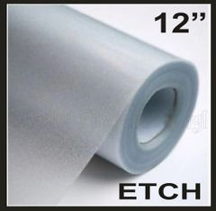 Glass Etch Adhesive Vinyl Film