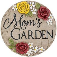 Stepping Stone Decor-Mom's Garden