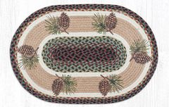 Pinecone Oval Rug