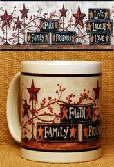 Faith Family Friends lll - 11oz Mug