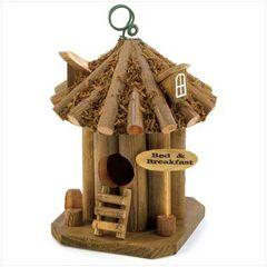 Garden Bed And Breakfast Birdhouse