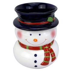 Snowman Tart Warmer 6in