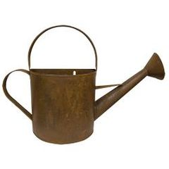 Rusty Wall Watering Can - Large