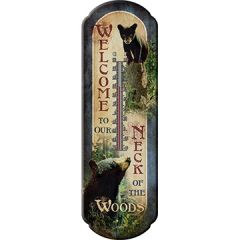 Bear/ Neck of The Woods Thermometer