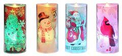 Acrylic LED Holiday Candle