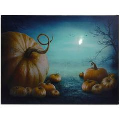 Pumpkin Patch LED Canvas