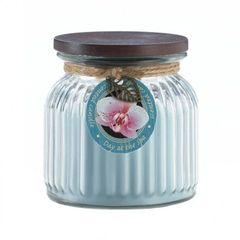 Day At Spa Ribbed Jar Candle