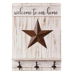 Wall Hanging - Welcome to our Home