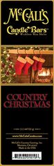 Candle Bars 5.5 oz Pack COUNTRY CHRISTMAS
