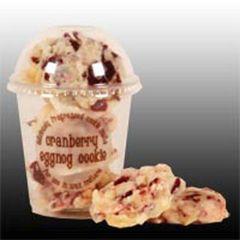 Cranberry Eggnog Cookie Melts