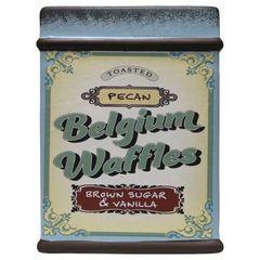 Pecan Belgium Waffles Farm Fresh Baked Goods 28 oz. Candle