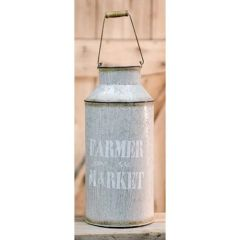 Farmer Market Milk Can