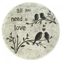 All You Need Is Love Garden Stepping Stone
