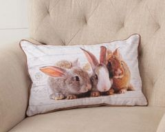Pillow - Bunnies, Double Sided