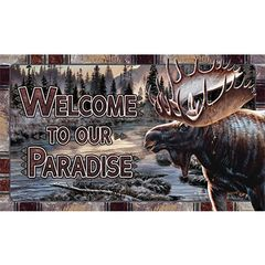Moose Welcome Mat