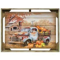 Autumn Truck Frame