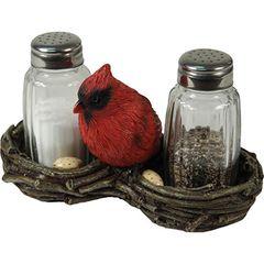 Cardinal Salt & Pepper Shaker