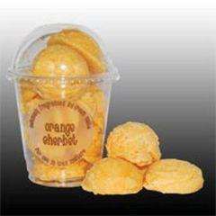 Orange Sherbet Ice Cream Melts