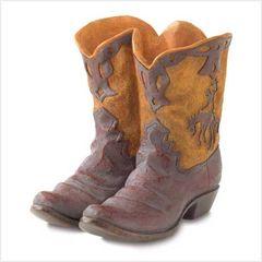 Western Cowboy Boot Planter