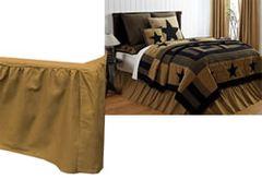 Delaware Star Queen Bed Skirt