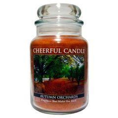 Autumn Orchards Cheerful Candle 24 oz.