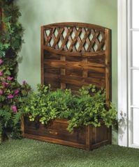 Garden Trellis Planter Box