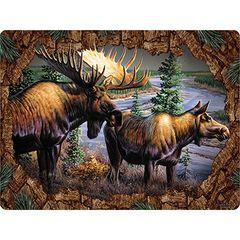 Moose Cutting Board