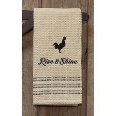 Rise & Shine Dish Towel, 20x28
