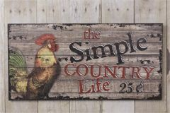 Sign - Country Life