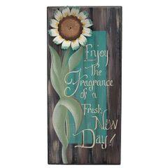 Enjoy the Fragrance Sign