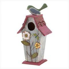 Garden Cottage Bird House