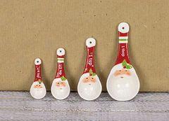 Santa Measuring Spoon Set