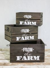 FROM THE FARM CRATE SET OF 3