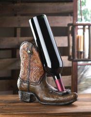 Western Cowboy Boot Wine Bottle Holder