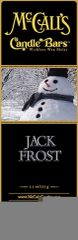 Candle Bars 5.5 oz Pack JACK FROST