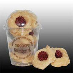 Raspberry Thumbprint Cookie Melts