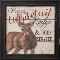 Sign - Whitetail Lodge And Guide Service