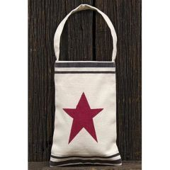 Red Star Canvas Bag w/Handle