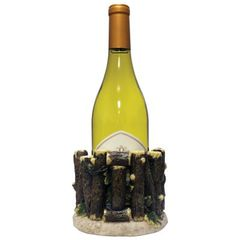Rustic Wine Bottle Holder