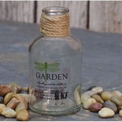 Garden Dragonfly Bottle