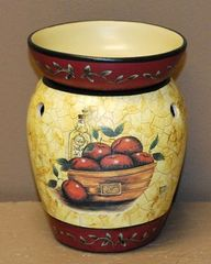 Apple Bowl Electric Tart Warmer 6.5in Halogen