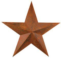 "Rusty Barn Star - 12"""