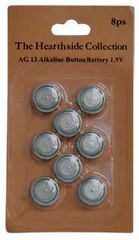 Batteries AG13, 8 Pkg