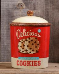Retro Ceramic - Cookie Jar