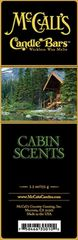 Candle Bars-5.5 oz Pack-CABIN SCENTS