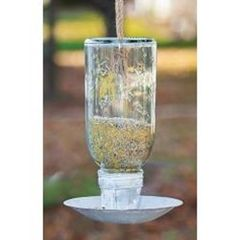 Large Mason Jar Bird Feeder
